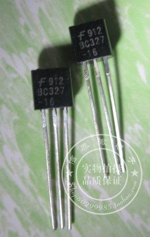 DIP Transistor BC327 BC327-25 TO-92 package new original crown shop --XTW(China (Mainland))