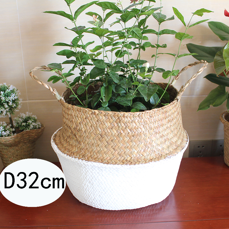 Straw Flower Hanging Baskets : Buy wholesale straw flower pot from china