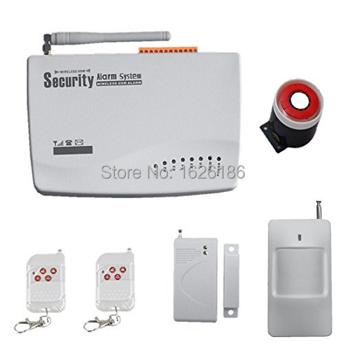 freeshipping DHL wireless smart security alarm system with English manual ,3 groups for timly arm/disarm <br><br>Aliexpress