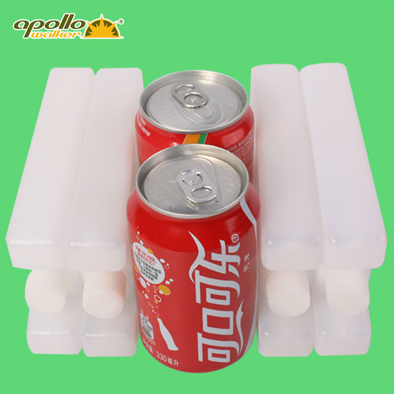New HDPE Ice water filled box Plane type Ice box for Lunch bags and cooler bags large capacity 400ml Absorbent polymer resin box(China (Mainland))