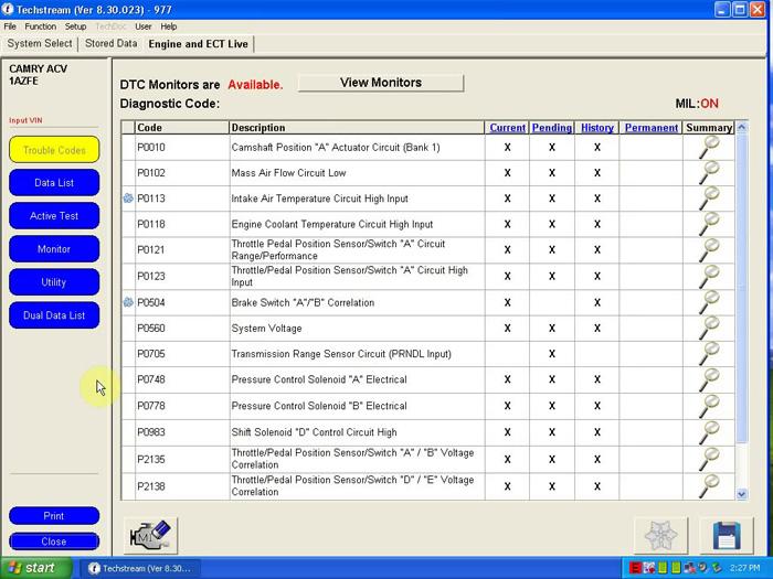 программы для mini-vci j2534
