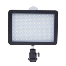 12W Dimmable WanSen 160 LED Video Camera Light Photographic Lamp 3200K-5500K For Canon Nikon DSLR Camera Camcorder(China (Mainland))