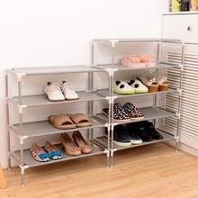 Shoe Cabinet Shoes Storage Organizer Shelf Non-Woven Fabric Shoe Holder Kitchen Furniture Stand Rack  Simple Combined(China (Mainland))