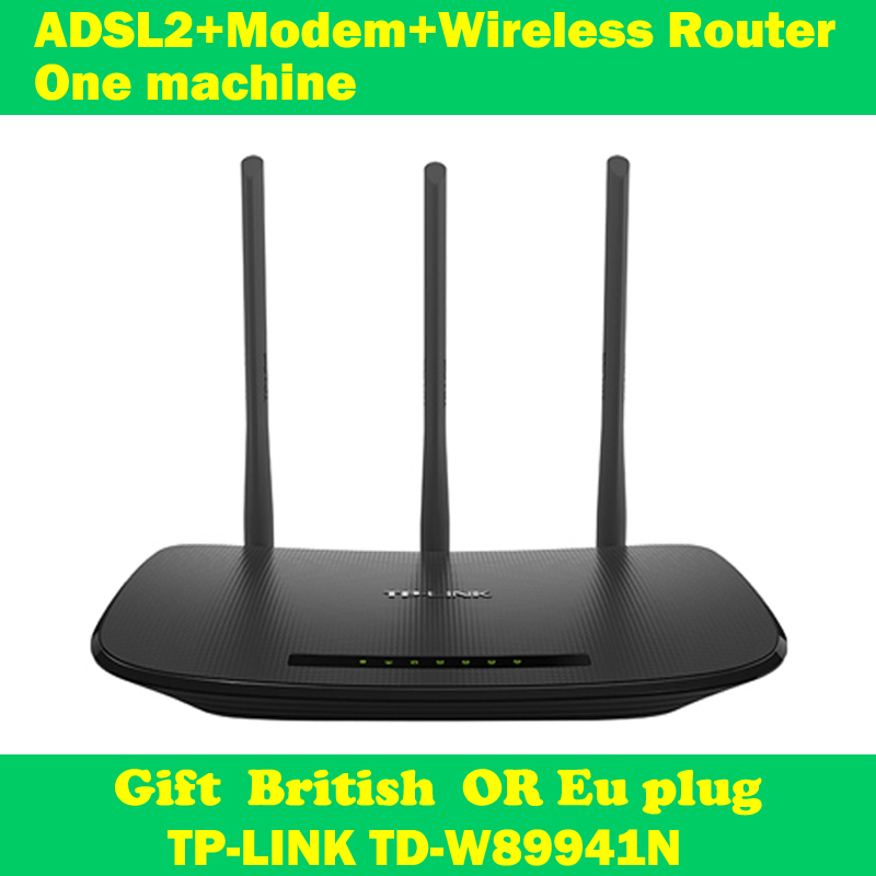 NEW TP-LINK TD-W89941N 450Mbps ADSL modem wifi extender wireless router 802.11n/g/b 3 antenna support IPTV(China (Mainland))
