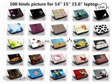 "free ship print vinyl laptop skin stickers for 14"" /15"" HP/DELL/ACER/asus notebook,M2S1(China (Mainland))"