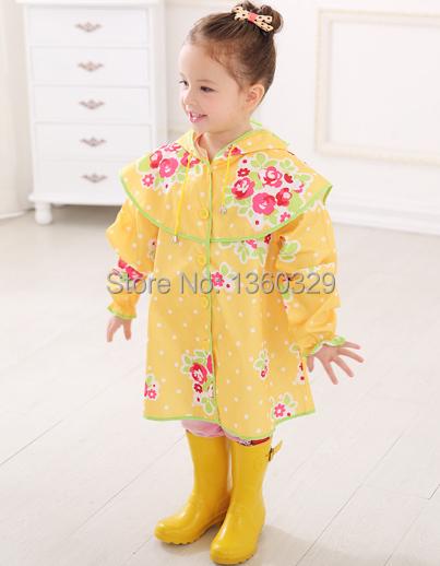 Kids School Raincoat Child Schoolbag Rain Coat Girls Rain Poncho for Kids capa de chuva Boys yupi poncho Para la lluvia Rainwear(China (Mainland))