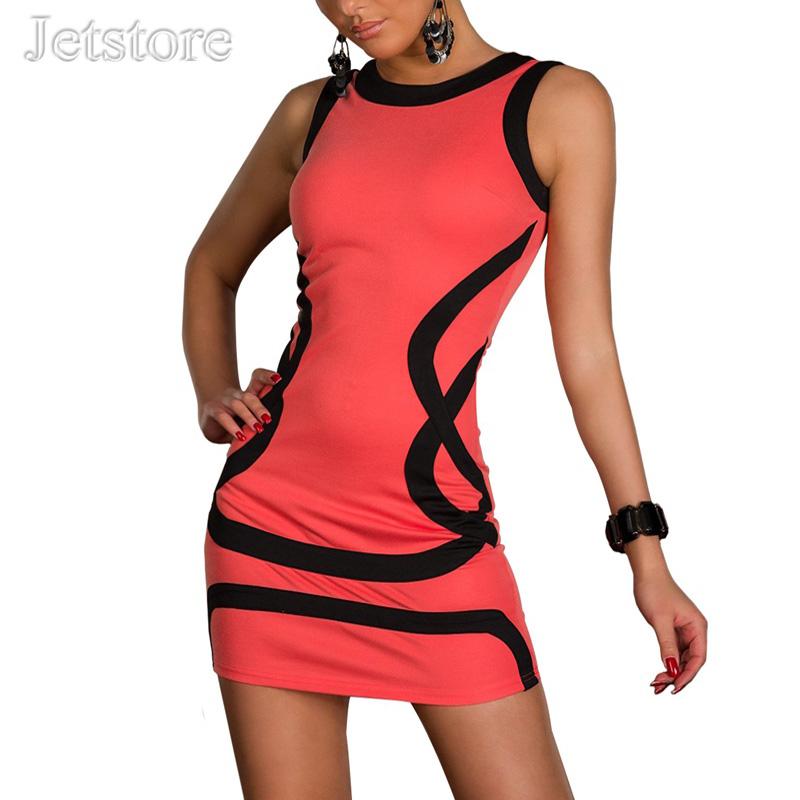 Buy Top Summer Women O Neck Sexy Dress