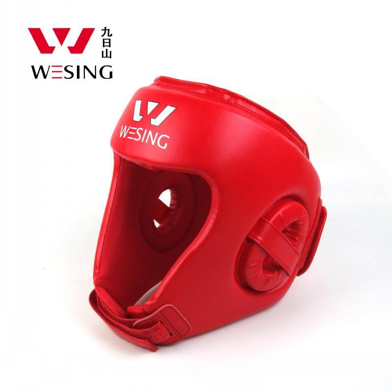 PU headguard for sanda,muay thai,boxing high protection boxing headguard 1001C1