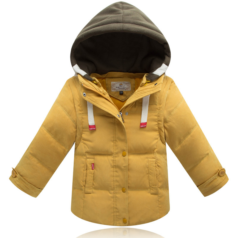 Children Jackets For Boys Girls Winter White Duck Down Jacket Coats Kids Hooded Parkas Child Coat 5 Colors For 3-7Years Old