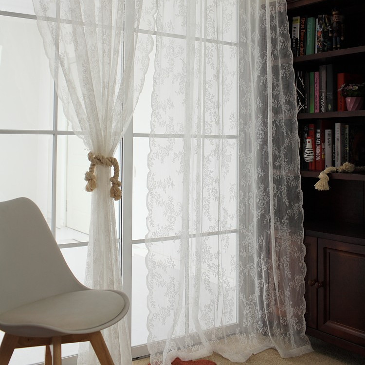 white lace bedroom curtains popular white lace curtain buy cheap