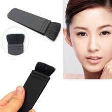 Hot Sale Pro 1Pcs Black Makeup Brush Flat Contour Blusher Cosmetic Beauty Brushes Tools High Quality