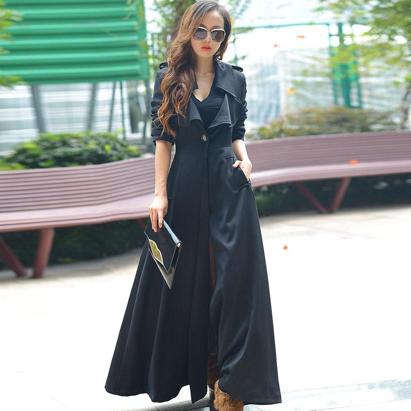 Женское модели диких длинная пальто