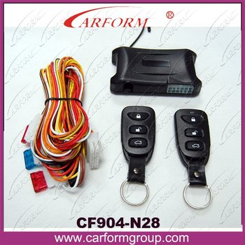 Keyless entry system/Car Remote Central Lock with nice Controllers N28/Trunk open function/Certification with CE/Free shipping