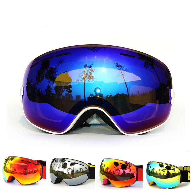 Free Shipping 2016 High quality Skiing Eyewear Ski  Goggles Snowboard goggles Men Women Snow Glasses Ski Goggles <br><br>Aliexpress
