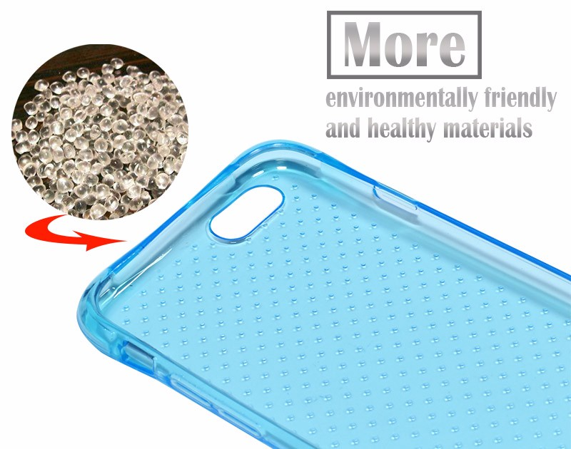 Phone Case For iPhone 5 5S SE / 6 6S / 6 S Plus Anti-knock Clear Silicone TPU Capinha Cover Coque For iPhone 5 5S / 6 6S Fundas
