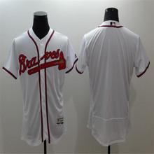 2016 Men's Flexbase Cheap Atlantas Stitched Throwback blank Baseball jersey, Color White Red Gray green Good Quality(China (Mainland))
