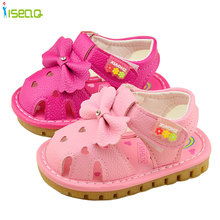 Summer Cute Baby Girls Sandals  Princess Flowers Toddlers Kids Shoe rabbit Baby Girl Shoes Kids Toddler Sandals(China (Mainland))