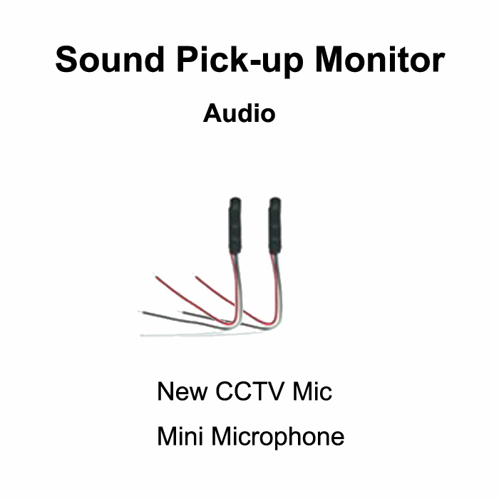 CCTV Camera Mic High sensitive MIni Sound Pick-Up Monitor Security Camera Microphone Voice Audio CCTV System(China (Mainland))