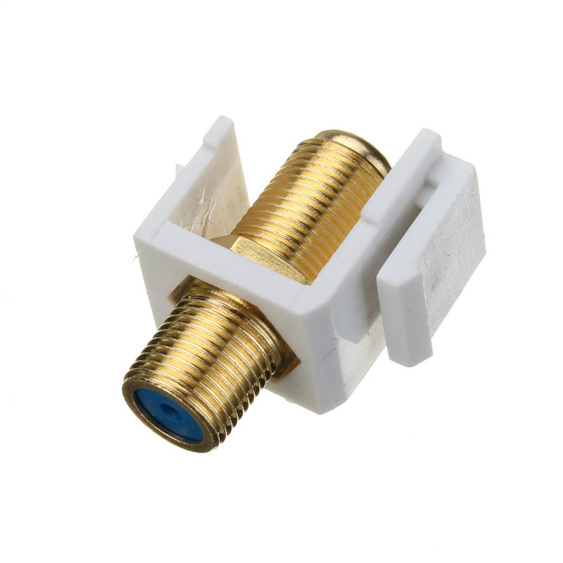 Building Material F Head Connector Wall Socket For Digital Cable TV/broadband TV/Satellite TV(China (Mainland))