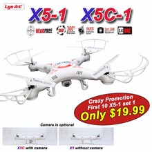 Lynrc X5C RC Drone with Camera 720P HD or X5-1 No camera Remote Control Quadcopter Helicopter 2.4G 6-Axis Dron /  X5C-1(China (Mainland))