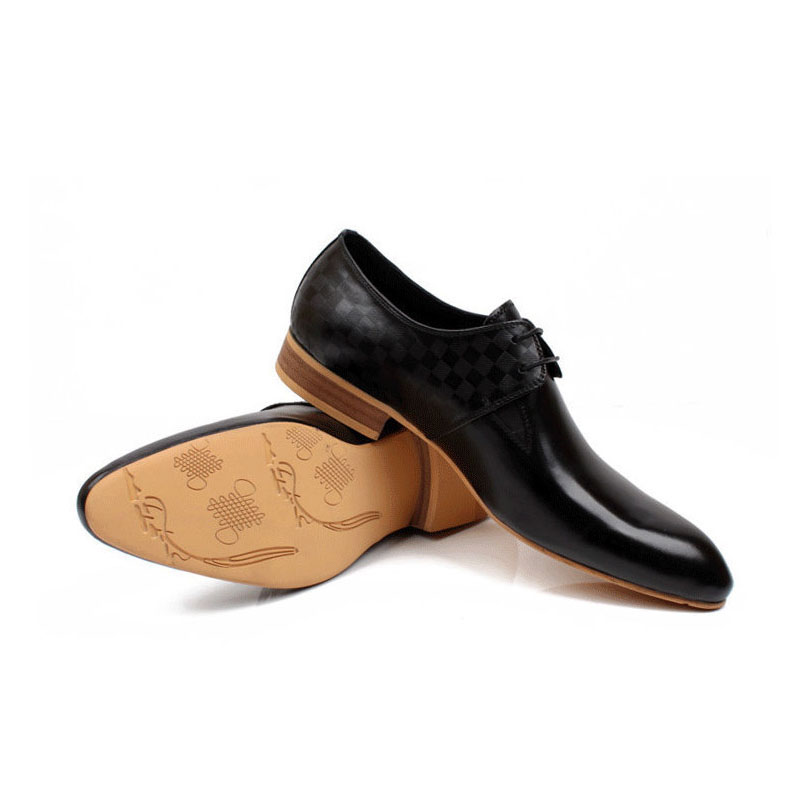 2016 style retro luxury mens shoes casual genuine