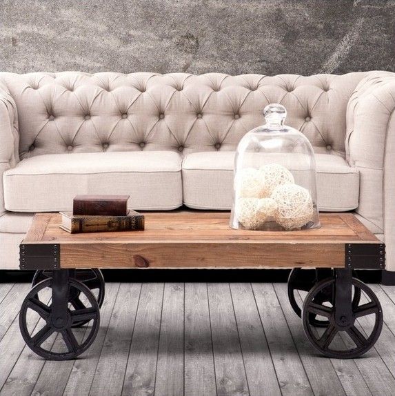 Antique Coffee Table On Wheels: Antique Table Wheels Promotion-Shop For Promotional