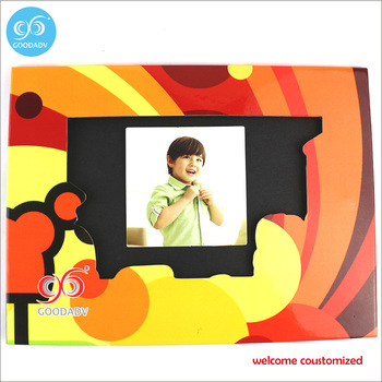 Promotion gift paper photo frame 2 pcs/lot free shipping fashion new styles baby picture photo frame wholesale
