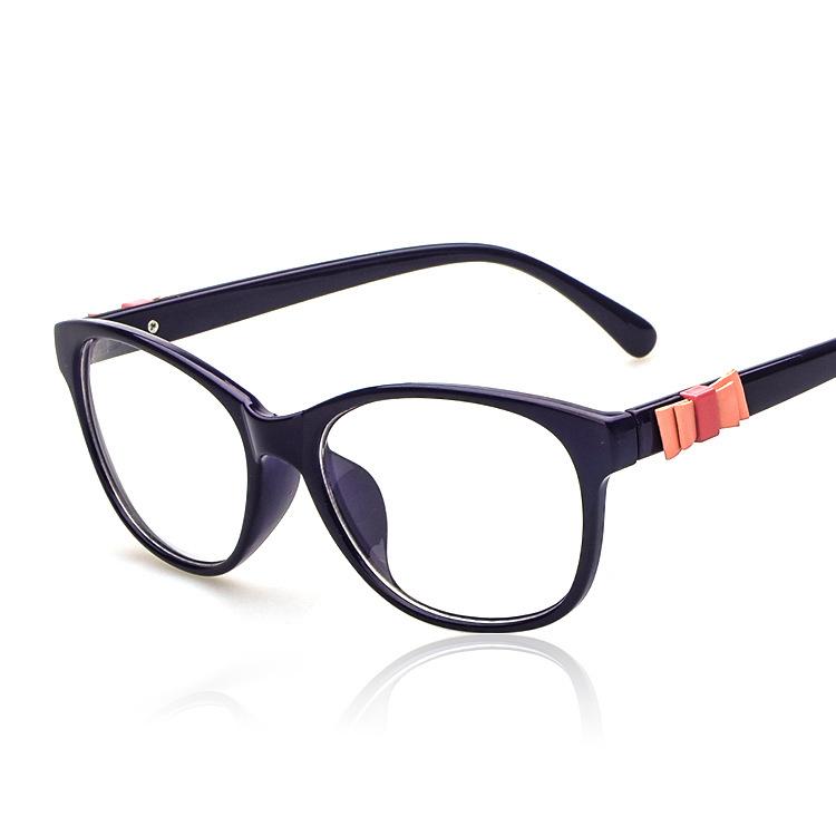 2015 new eyewear eyeglasses retro bow spectacles