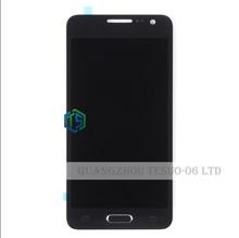 Белое Золото Черный A3 Дисплей Бесплатная Доставка Для Samsung Galaxy A3 ЖК SM-A300F A300 A300FU LCD С Сенсорным Экраном с кнопки 1 шт. + инструмент(China (Mainland))