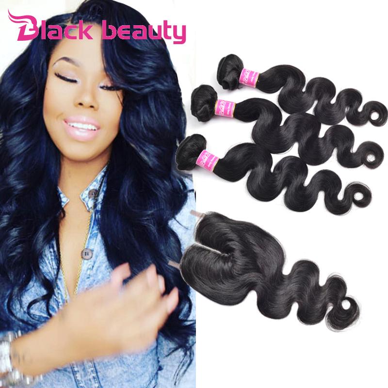 Ali Moda Hair 6A Peruvian Virgin Hair Body Wave 3bundles Human Hair Weave With 1pc 6A Free Part Lace Closure Peruvian Body Wave<br><br>Aliexpress