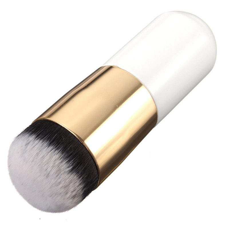1Pcs Pro Makeup Brush Blush Powder Foundation Concealer Wooden Handle Nylon Hair Bristles Cosmetic Brushes Beauty