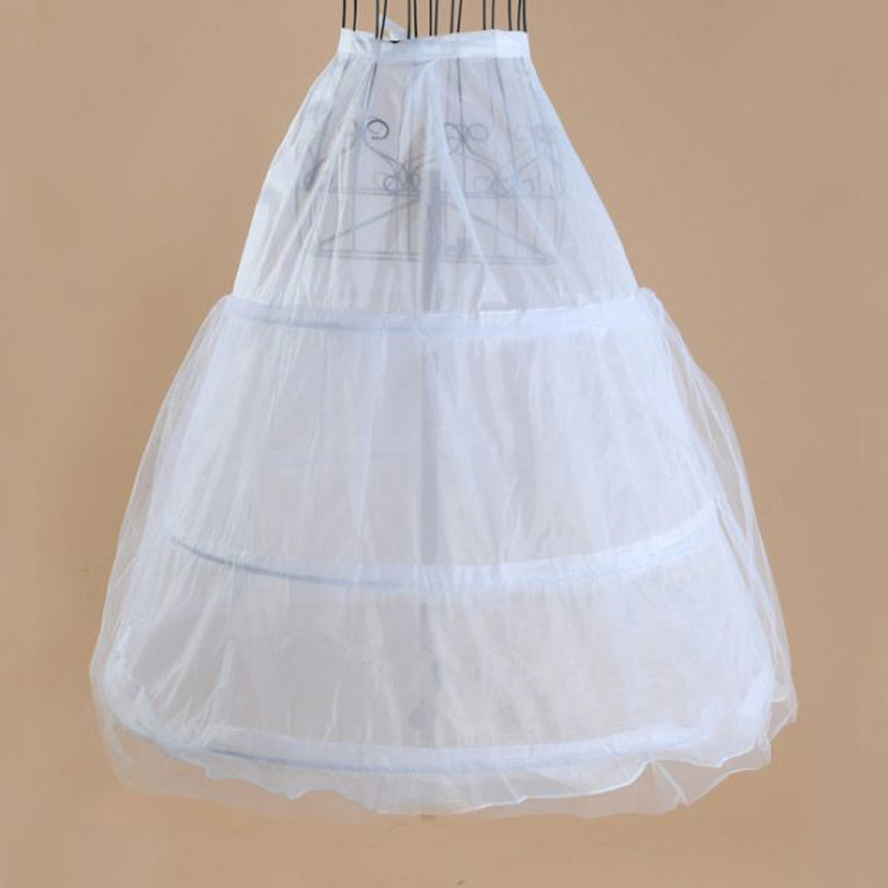 In stock 3 hoops petticoats for wedding dress wedding accessories free