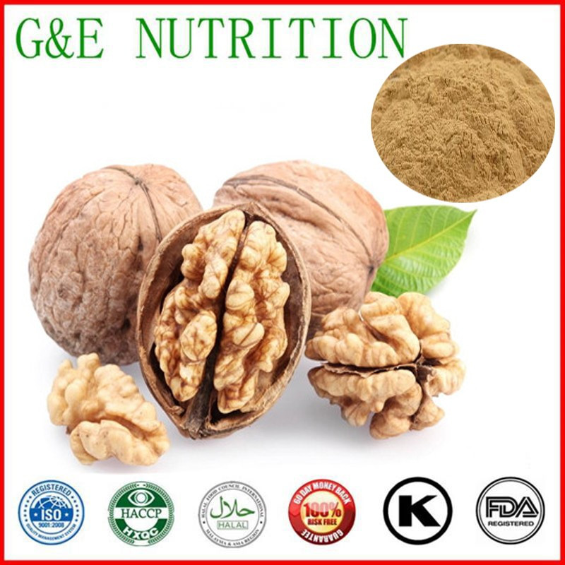 Hot Selling 100% Natural black walnut extract 10:1 with free shipping 1000g