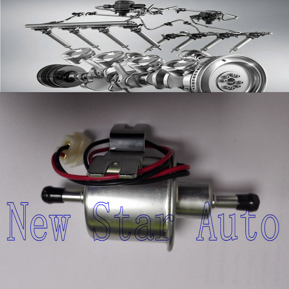 12V 8mm Pipes Car Boat Diessel / Petrol HEP-02A Set Metal Electric Fuel Pump Rapid Transit(China (Mainland))