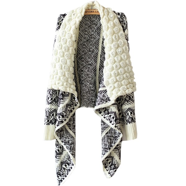 [yyw] Autumn and Winter Cardigan Fashion 2015 Women Sweater Women Big Casual Knitting Sweater Women(China (Mainland))