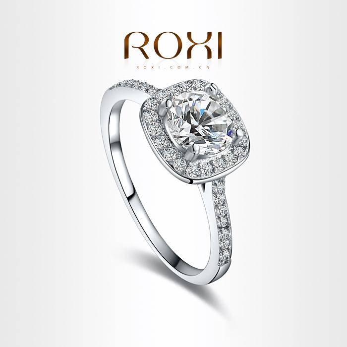 Гаджет  ROXI Exquisite  Rings platinum and Rhodium plated with AAA zircon,classic style ,high quality ,Micro-Inserted Jewelry,101014534 None Ювелирные изделия и часы