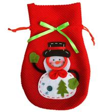 Buy Stereo Christmas Snowman Candy Bag Gift Bags Creative Practical Christmas Gift Bag mini Cute Lovely Xmas Children Bags Gifts W5 for $1.81 in AliExpress store
