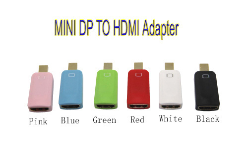 High Quality HDMI Female to Mini DP Male Mini Display Port Converter Computer Adapter Connector Extender(China (Mainland))