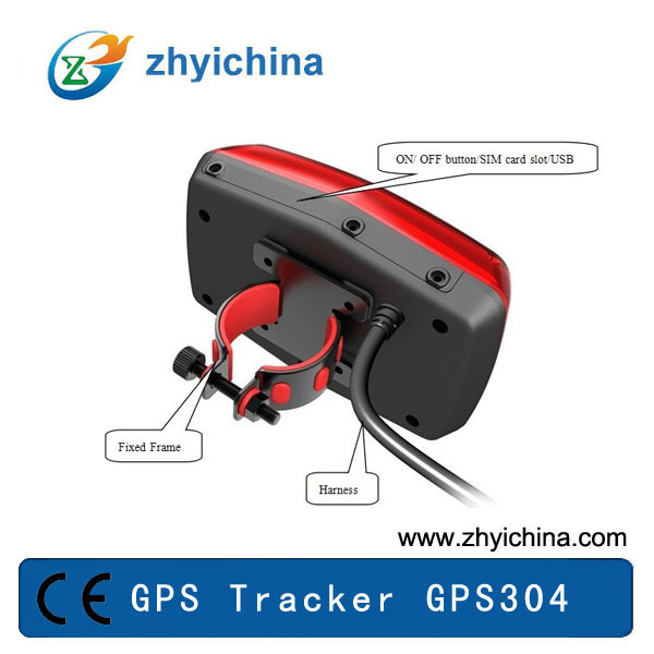 tail light shape electric bike gps gps304 in gps trackers. Black Bedroom Furniture Sets. Home Design Ideas