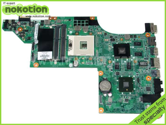 LAPTOP MOTHERBOARD for HP PAVILION DV7 DV7T 605320-001 HM55 With ATI HD 5650 1GB suppy Core i7 only(China (Mainland))