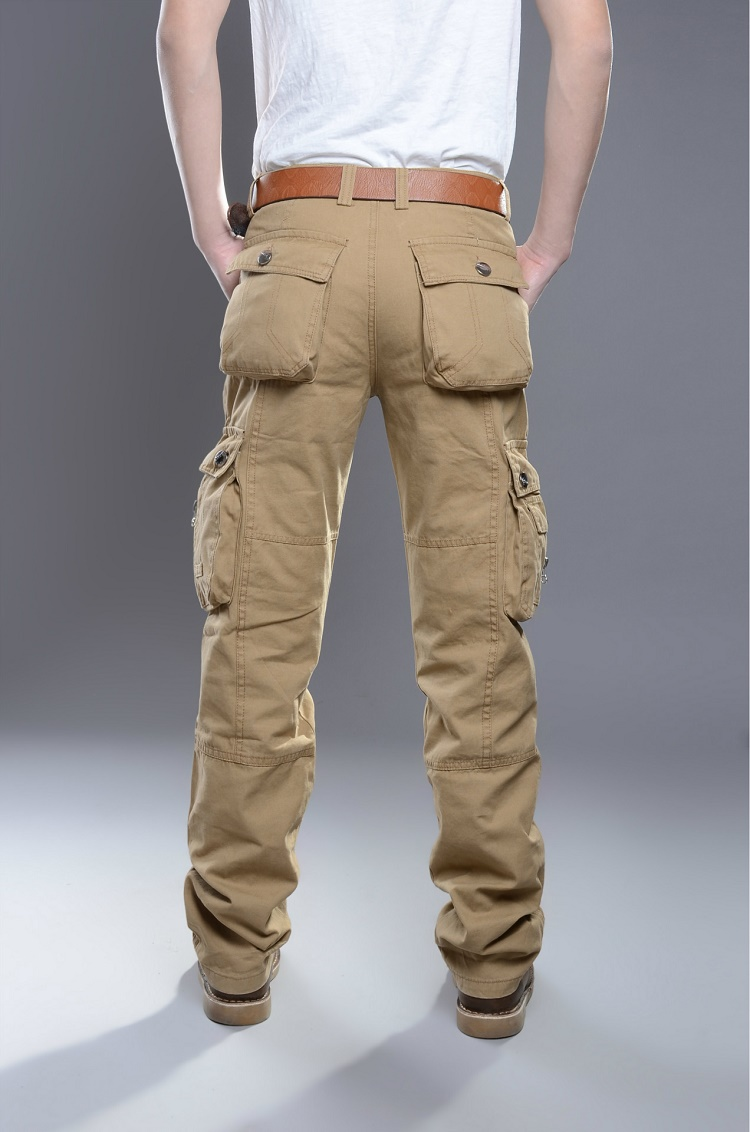 Plus Size Cargo Pants For Men - White Pants 2016