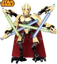 6STAR WARS General Grievous Action Figure Lightsaber Hero Factory Building Set Toys Lepin Blocks - Top Toy Seller store