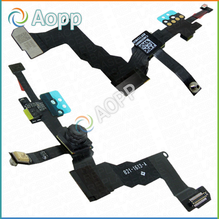 Replacement Proximity Light Sensor, Front Camera And Top Microphone - Original for iPhone 5S & Free Shipping