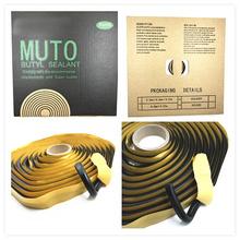 Black BUTYL RUBBER GLUE HEADLIGHT SEALANT RETROFIT Reseal HID Headlamps TAILLIGHT Shield Glue Tapes(China (Mainland))