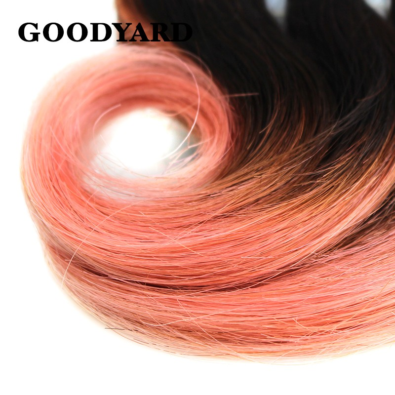 Super Sale Cheap Ombre Hair Bundles Short Wavy Human Hair Extension 12pcs/Pack 150g  Colored Dyed Wholesale Price Two To