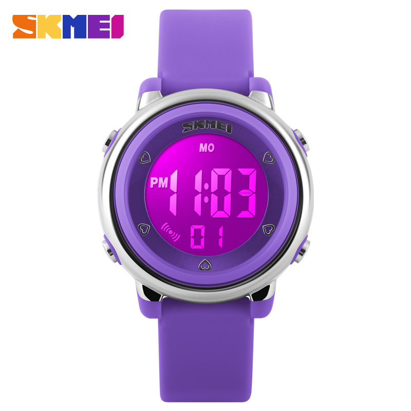Children LED Digital Watch Relogio Feminino Sports Watches Kids Cartoon Jelly Relojes Mujer Waterproof Wristwatches 2016 SKMEI