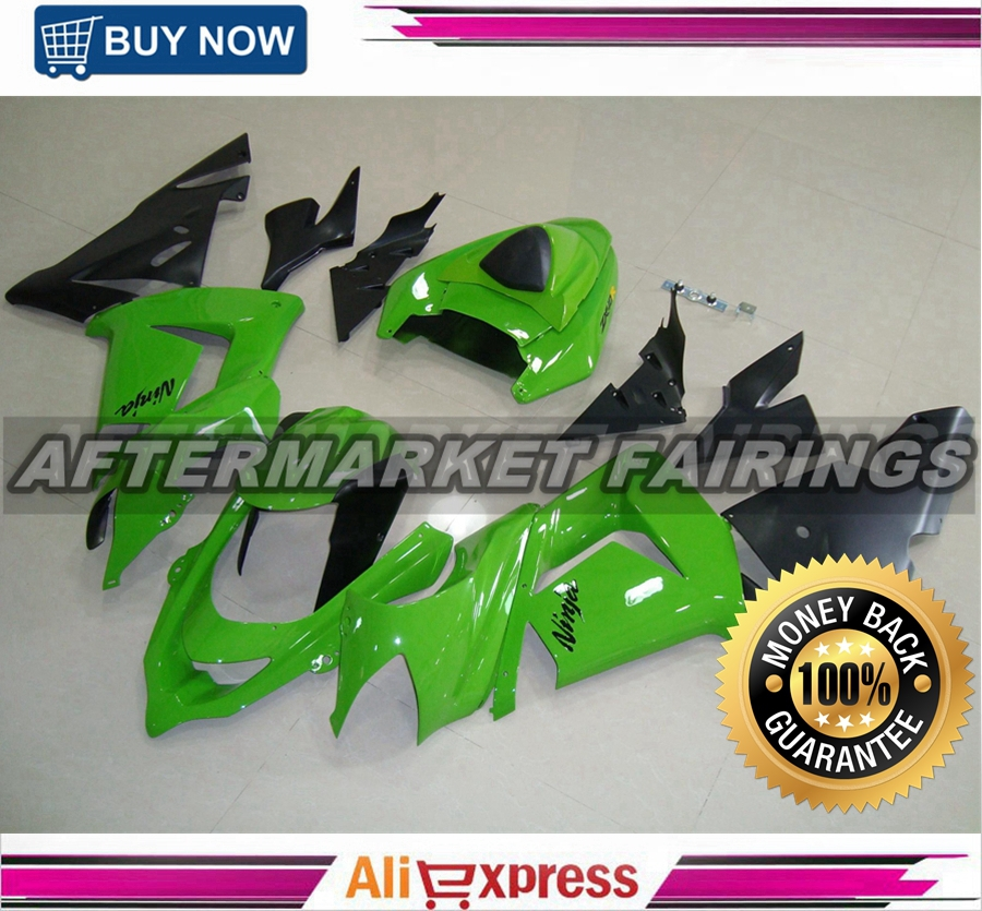 Green Fairing kits ZX10R 2004 for Kawasaki superbike body with OEM fitment(China (Mainland))