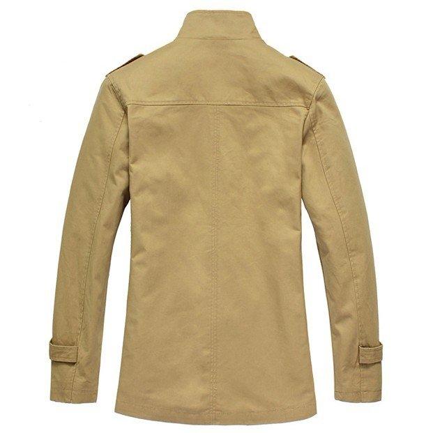2012 British style men's handsome cotton washing outdoor windbreaker jacket BWBM001