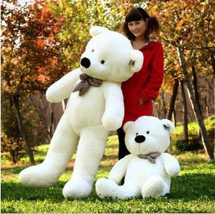 Ultra low-cost 140 cm teddy bear hug bear doll plush dolls toys I lovely woman birthday gifts on valentine's day gift(China (Mainland))