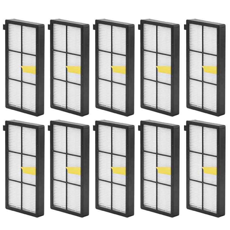 10 pack Hepa Filter Accessory For iRobot Roomba 800 900 Series 870 880 980 Vacuum Robots Replacements Parts(China (Mainland))